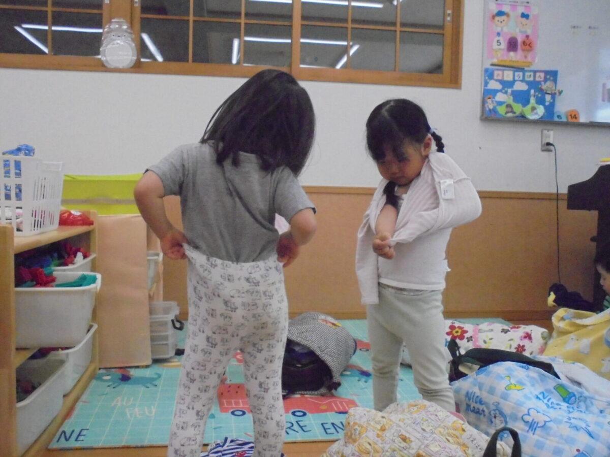 6月の様子(たいよう1組)